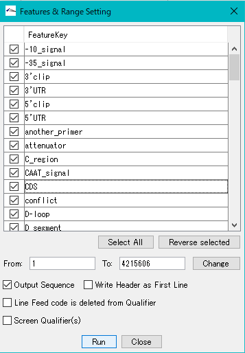 IMC C72A Export and Save Features in CSV Format File